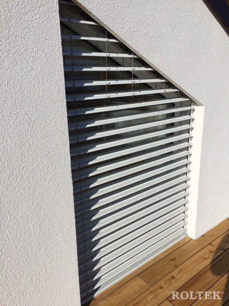 Sistema Di Oscuramento Per Finestre veneziane per serramenti obliqui | roltek